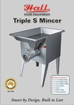 Hall Food Triple S Meat Mincer